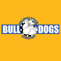 Bulldogs - Adult Heavy Cotton ™ 100% Cotton T Shirt Design