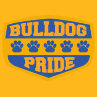 Bulldog Pride - Adult Heavy Cotton ™ 100% Cotton T Shirt Design
