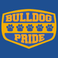 Bulldog Pride - Ladies Heavy Cotton™ 100% Cotton T Shirt Design