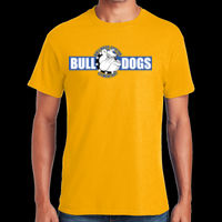 Bulldogs - Adult Heavy Cotton ™ 100% Cotton T Shirt Thumbnail