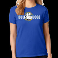 Bulldogs - Ladies Heavy Cotton™ 100% Cotton T Shirt Thumbnail