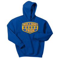 Bulldog Pride - Youth Heavy Blend™ Hooded Sweatshirt Thumbnail