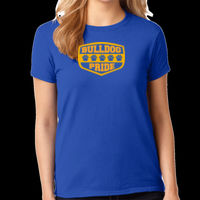 Bulldog Pride - Ladies Heavy Cotton™ 100% Cotton T Shirt Thumbnail
