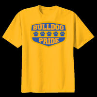 Bulldog Pride - Youth Heavy Cotton ™ 100% Cotton T Shirt Thumbnail