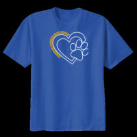 Bulldogs Heart - Youth Heavy Cotton ™ 100% Cotton T Shirt Thumbnail