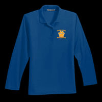 Bulldogs Embroidered - Silk Touch™ Polo - Ladies Long Sleeve Silk Touch™ Polo Thumbnail