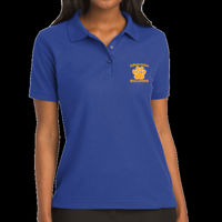 Bulldogs Embroidered - Silk Touch™ Polo - Ladies Silk Touch™ Polo Thumbnail