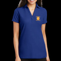 Bulldogs Embroidered - Silk Touch™ Polo - Ladies Silk Touch ™ Y Neck Polo Thumbnail