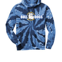 Bulldogs - Youth Tie Dye Pullover Hooded Sweatshirt Thumbnail