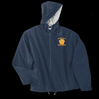 Bulldogs Embroidered - Water Resistant Hooded Team Jacket - Team Jacket Thumbnail